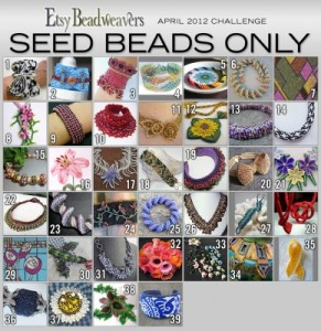 "April Challenge Entries for ""Seed Beads Only"""